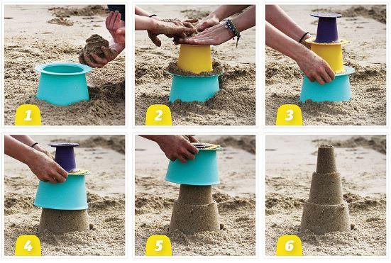 Alto bucket for the beach