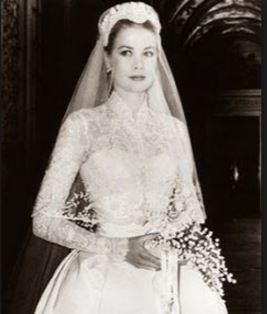 Princess Grace of Monaco vintage wedding style icon